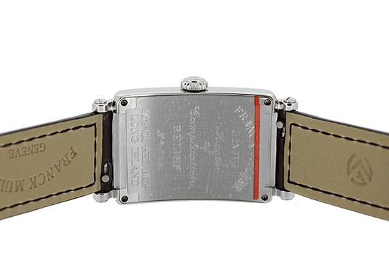 フランクミュラー 902QZ REL MOP レディース ロングアイランド レリーフ  SS シェル文字盤 クォーツ レザー