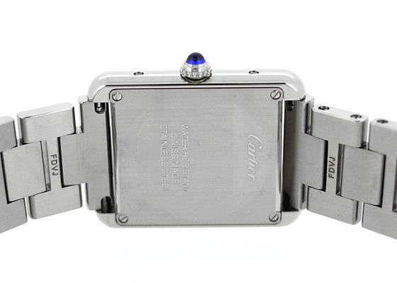 カルティエ W5200013 レディース タンク ソロ SM SS シルバー文字盤 クォーツ ブレスレット