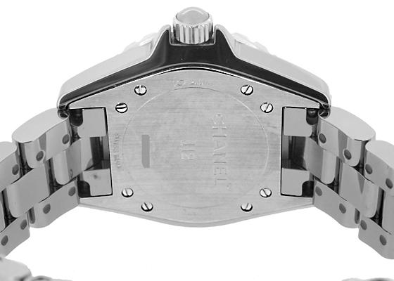 シャネル H2978 レディース J12 クロマティック 33mm TI&セラミック グレー文字盤 クォーツ ブレスレット