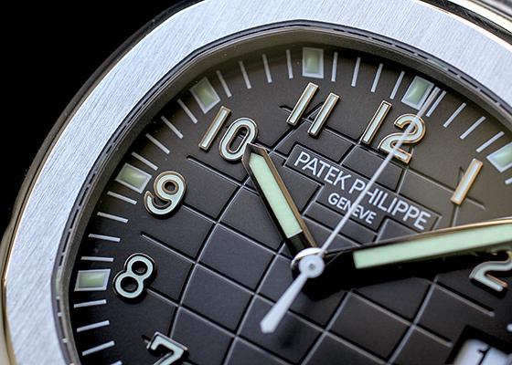 【中古】パテックフィリップ 5167/1A-001 アクアノート エクストララージサイズ SS 黒文字盤 自動巻き ブレスレット