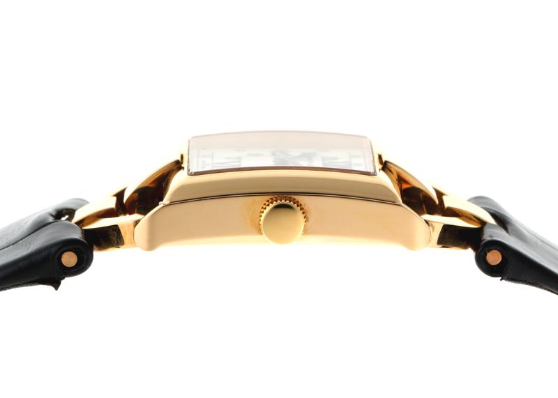 【未使用品】ラルフローレン RLR0171700 867 タキシード モデル YG 白文字盤 クォーツ レザー