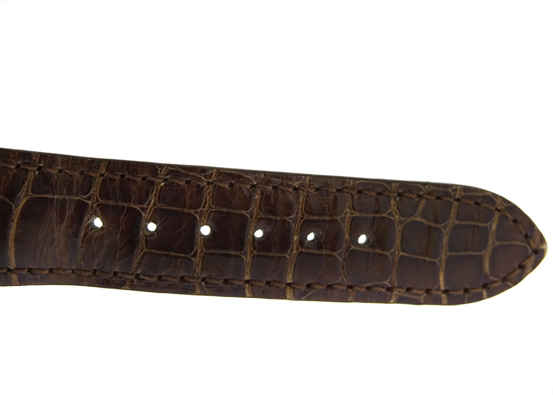 【中古】パテックフィリップ 5196R-001 カラトラバ RG シルバー文字盤 手巻き レザー