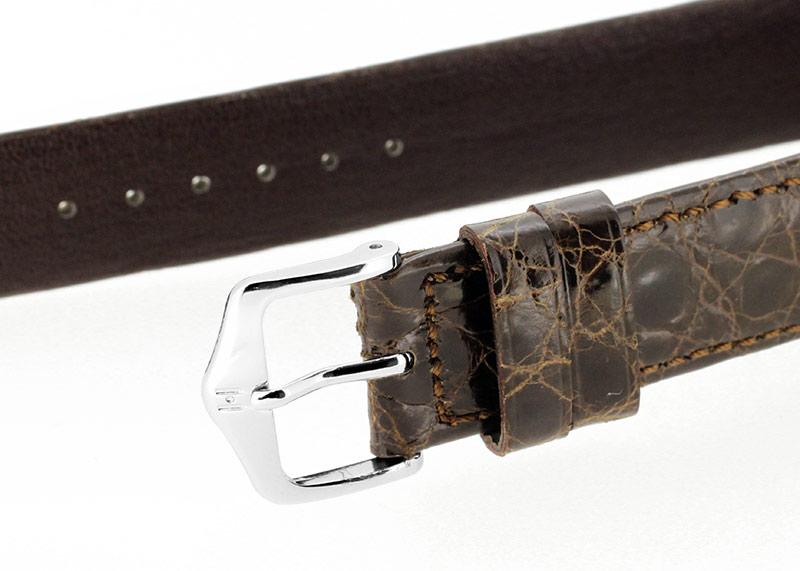 【中古】ジャガールクルト 250.8.86 レベルソ SS グレー/シルバー文字盤 手巻き レザー