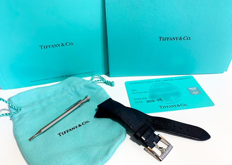TIFFANY&Co.【替えベルト付】 【ミニサイズ】ティファニー イーストウエスト ミニ 2ハンド 【中古】