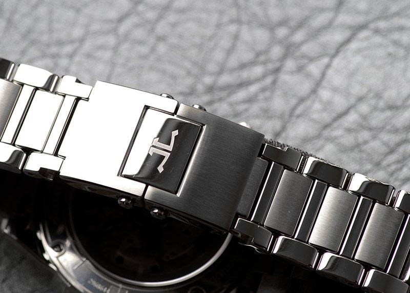 ジャガールクルト Q9008180 ポラリス オートマティック SS ブルー文字盤 自動巻き ブレスレット