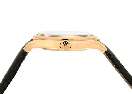 ヴァシュロンコンスタンタン 4600E/000R-B441 フィフティーシックスオートマティック PG シルバー文字盤 自動巻き レザー