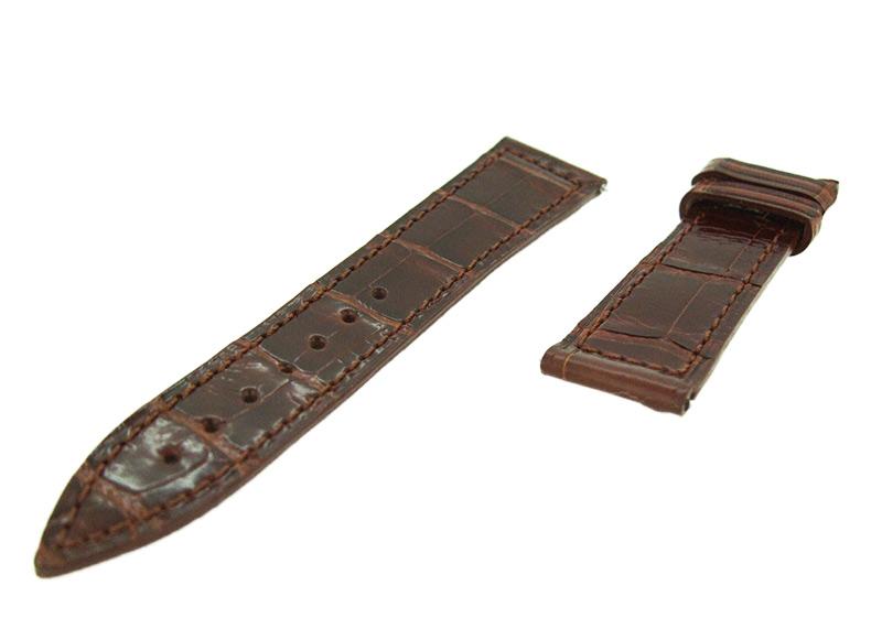 フランクミュラー レザーストラップ 950/6002S用 クロコダイル ブラック(艶無) 18-16mm