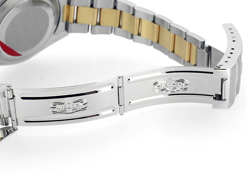 【中古】ロレックス 16713RG オイスターパーペチュアル GMTマスターII YG&SS グレー文字盤 自動巻き ブレスレット