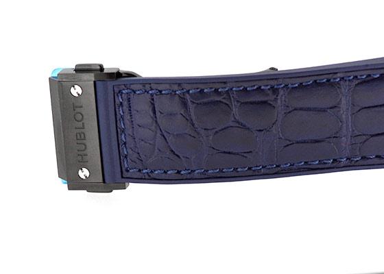 ウブロ 301.CI.7170.LR ビッグバン セラミックブルー CE ブルー文字盤 自動巻き ラバーアリゲーター