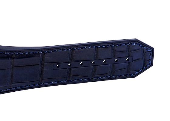 ウブロ 601.CI.7170.LR スピリット オブ ビッグ・バン セラミック ブルー スケルトン文字盤 自動巻き アリゲーター/ラバー