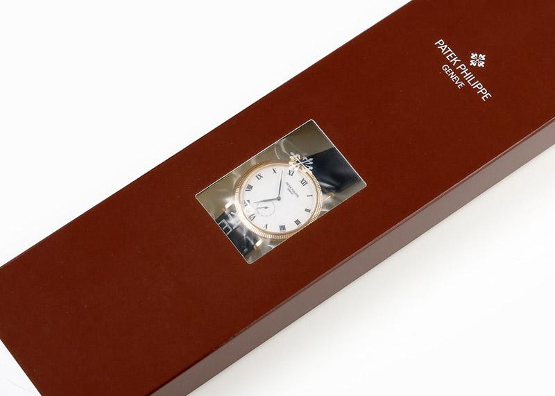 【レストア】パテックフィリップ 3919J-001 カラトラバ YG 白文字盤 手巻き レザー【2003年製】