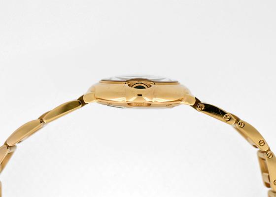 カルティエ WJBB0016 レディース バロンブルー SM PG シルバー文字盤/11Pダイヤモンド クォーツ ブレスレット