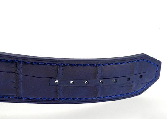 【近日入荷】ウブロ 301.SX.7170.LR ビッグバン スチール ブルー SS ブルー文字盤 自動巻き アリゲーター/ラバー