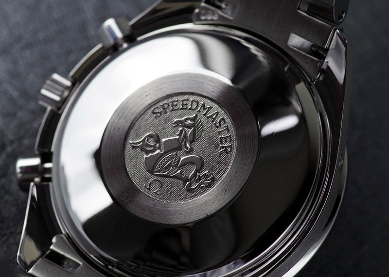 【中古】オメガ 3520.50 スピードマスター マーク40 コスモス SS 黒文字盤 自動巻き ブレスレット