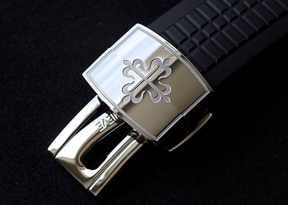 パテックフィリップ 5167A-001 アクアノート エクストララージ SS 黒文字盤 自動巻き ラバー