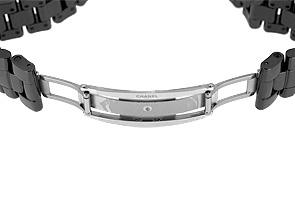 シャネル H3406 J12 ファーズ ドゥ リュヌ 38mm 黒セラミック 黒文字盤 自動巻き ブレスレット