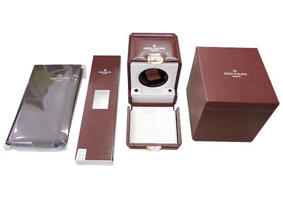 【中古】パテックフィリップ 5040G-016 パーペチュアルカレンダー ムーンフェイズ WG 黒文字盤 自動巻き レザー