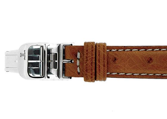 ジャガールクルト Q2608411 レディース レベルソ レディ SS シルバー文字盤 手巻き レザー