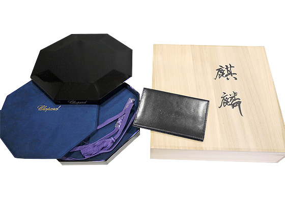 【中古】ショパール 161902-5045 L.U.C XP Urushi 麒麟 RG 漆文字盤 自動巻き レザー