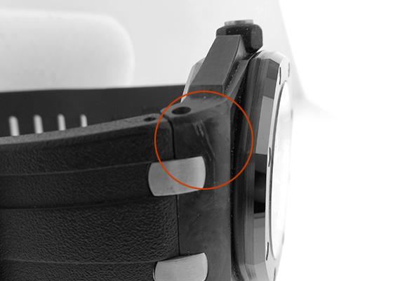 【中古】オーデマピゲ 15706AU.OO.A002CA.01 ロイヤルオーク オフショア ダイバー フォージドカーボン カーボン 黒文字盤 自動巻き ラバー