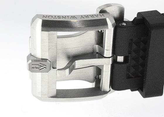 【世界限定300本】ハリーウィンストン  OCEACH44ZZ004 プロジェクト Z9 ザリウム スケルトン文字盤 自動巻き ラバー