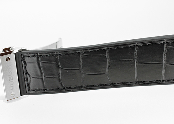 ウブロ 517.NX.0170.LR  クラシックフュージョン アエロフュージョン ムーンフェイズ チタニウム TI スケルトン文字盤 自動巻き ラバーアリゲーター
