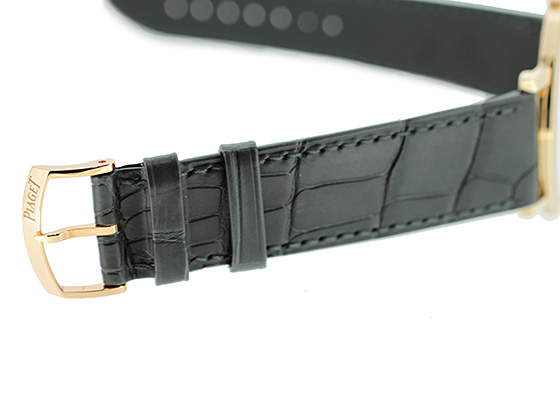 ピアジェ G0A39110 アルティプラノ PG スケルトン文字盤 手巻き レザー