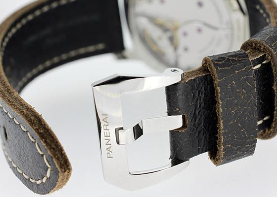 オフィチーネ パネライ PAM00514 ラジオミール 1940 3デイズ アッチャイオ SS 黒文字盤 手巻き レザー
