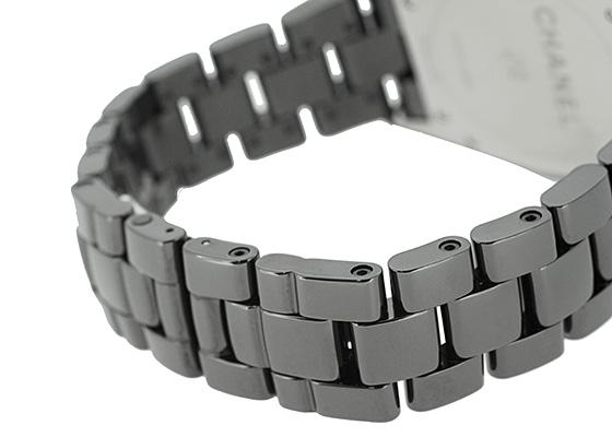 シャネル H0940 J12 クロノグラフ 41mm セラミック 黒文字盤 自動巻き ブレスレット