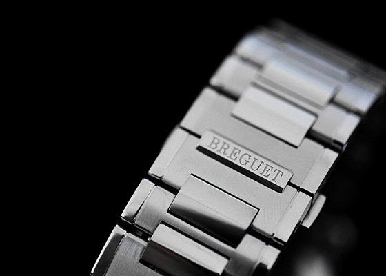 ブレゲ 5817ST/12/SM0 マリーンII SS シルバー文字盤 自動巻き ブレスレット
