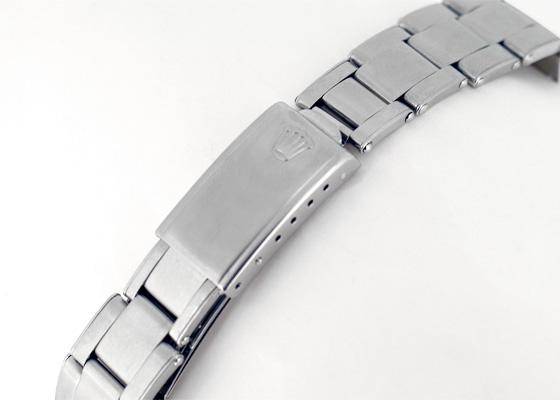 【ヴィンテージ】ロレックス 6694 オイスター デイト プレシジョン 60年代 SS シルバー文字盤 手巻き ブレスレット(リベット仕様)