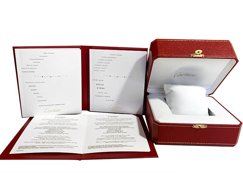 【中古】カルティエ WSCA0010 カルティエ カリブル ダイバー SS ブルー文字盤 自動巻き ファブリック/ラバー