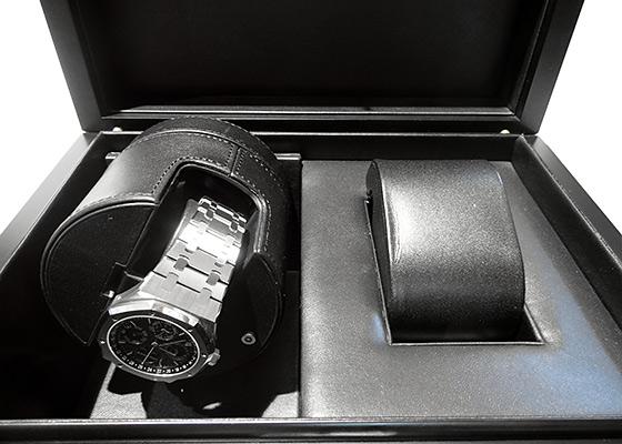 【未使用品】オーデマピゲ 26574ST.OO.1220ST.02 ロイヤルオーク パーペチュアルカレンダー SS ブルー文字盤 自動巻き ブレスレット