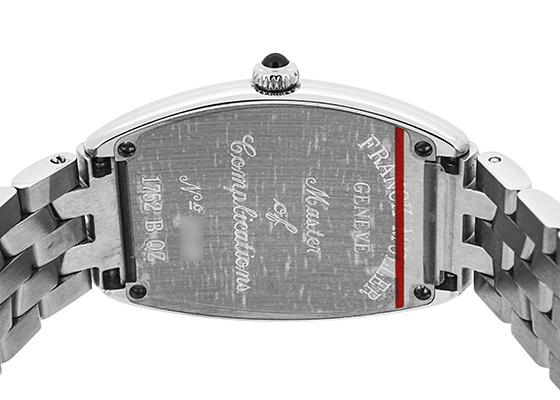 フランクミュラー 1752QZ レディース トノーカーベックス SS シルバー文字盤 クォーツ ブレスレット