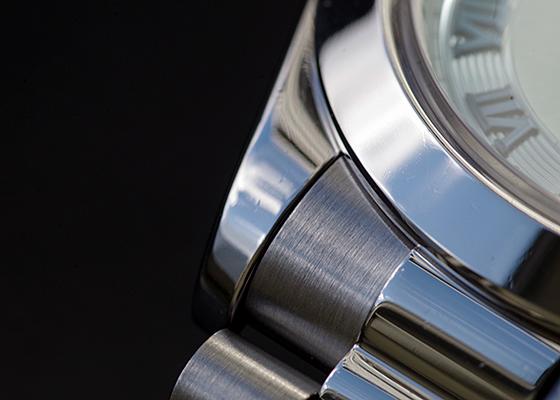 【中古】ロレックス 218206 オイスターパーペチュアル デイデイトII PT アイスブルー文字盤 自動巻き ブレスレット