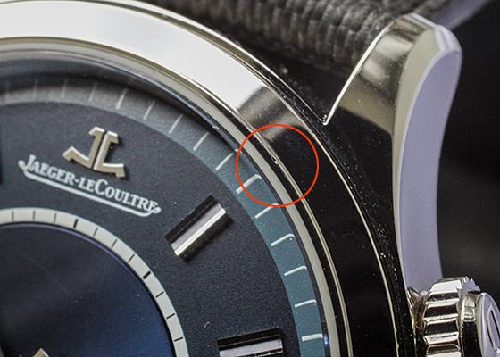 【中古】【ブティック500本限定】ジャガールクルト Q141848J(174.8.96) マスター メモボックス SS ブルー文字盤 自動巻き レザー