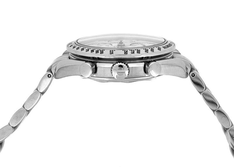 【中古】オメガ 3513.30 スピードマスターデイト SS シルバー文字盤 自動巻き ブレスレット