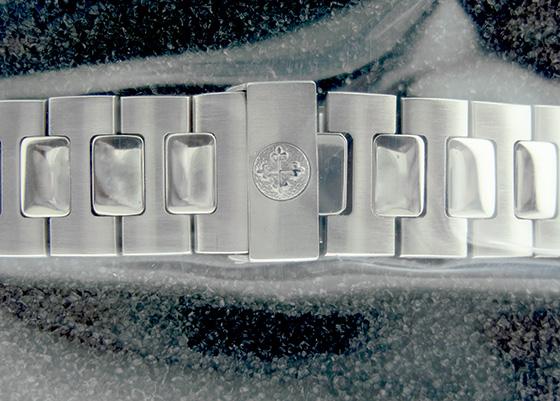 【中古】パテックフィリップ 3800/1A ノーチラス SS ダークブルー文字盤 自動巻き ブレスレット