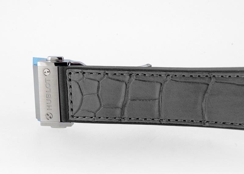 【近日入荷】ウブロ 542.NX.7071.LR クラシックフュージョン レーシンググレー チタニウム 42mm TI グレー文字盤 自動巻き アリゲーター/ラバー