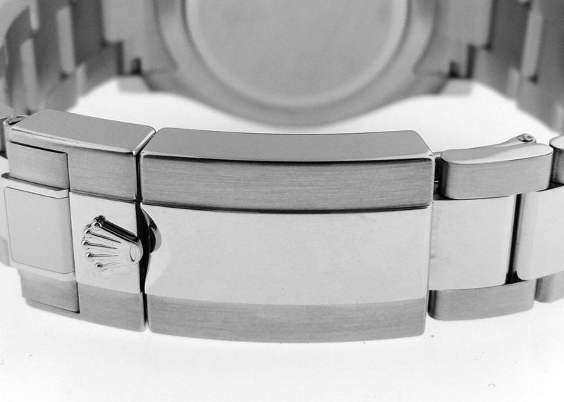 【未使用品】ロレックス 116506A オイスターパーペチュアル コスモグラフ デイトナ PT アイスブルー/バゲットダイヤ文字盤 自動巻き ブレスレット【委託品】