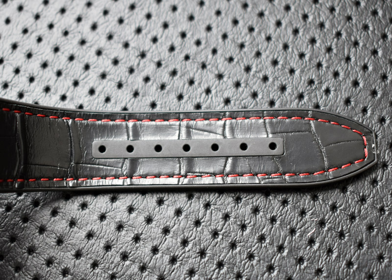 フランクミュラー V45SCDT ヴァンガード デイト SS 黒文字盤 自動巻き ラバーアリゲーター