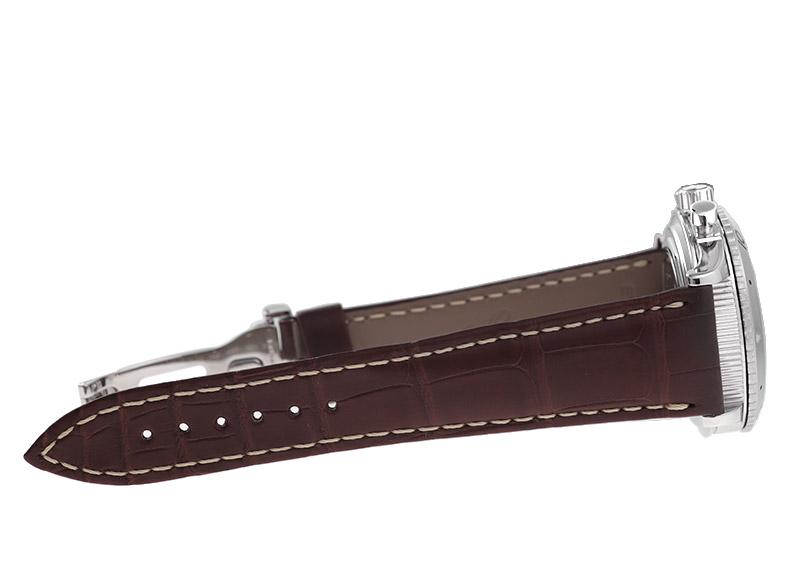 【中古】ブレゲ 3820ST/H2/9W6 トランスアトランティック SS ブラック文字盤 自動巻き レザー