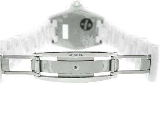 シャネル H3214 J12 38mm CE シェル/8Pダイヤ文字盤 クォーツ ブレスレット