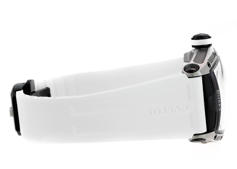【中古】クストス CVT-JET2-PS TTBKTT チャレンジ ジェットライナー II P-S TI スケルトン文字盤 自動巻き ラバー