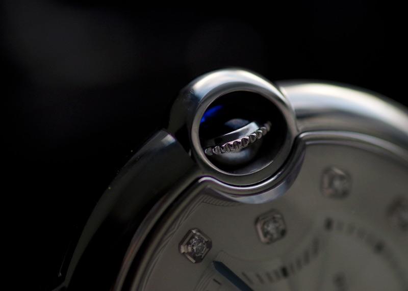 カルティエ バロンブルー ドゥ カルティエ 36mm WE902075