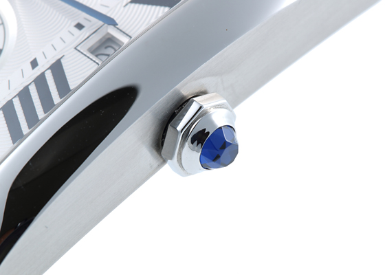 カルティエ W5330003 タンク MC SS シルバー文字盤 自動巻き レザー