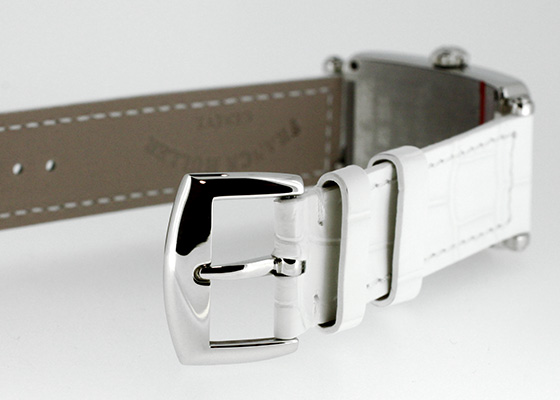 フランクミュラー 902QZ MOP レディース ロングアイランド SS シェル文字盤 クォーツ レザー