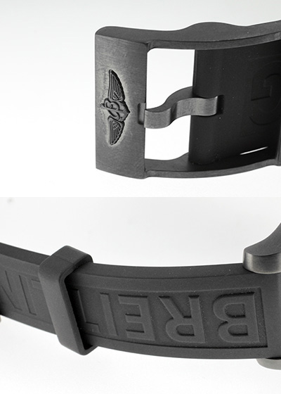 【未使用品】【世界限定1,000本】ブライトリング M110B11VPB(M13341) スーパーオーシャン クロノグラフ ブラックスチール PVD ブラック文字盤 自動巻き ラバー