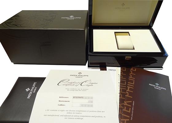 【中古】パテックフィリップ 5711/1A-011 ノーチラス SS 白文字盤 自動巻き ブレスレット
