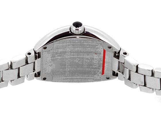 フランクミュラー 5002SQZ レディース ハートトゥハート SS シルバー文字盤 クォーツ ブレスレット
